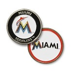 Miami Marlins Double Sided Ball Marker