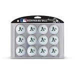 Oakland Athletics Dozen Pack Balls