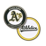 Oakland Athletics Double Sided Ball Marker