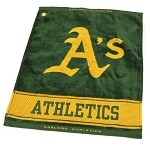 Oakland Athletics Woven Towel