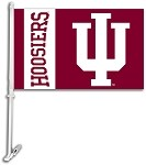 Indiana Hoosiers Car Flags