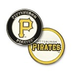 Pittsburgh Pirates Double Sided Ball Marker