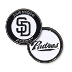 San Diego Padres Double Sided Ball Marker
