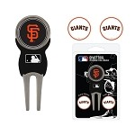 San Francisco Giants Divot Tool Set of 3 Markers
