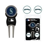 Seattle Mariners Divot Tool Set of 3 Markers
