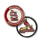 St. Louis Cardinals Double Sided Ball Marker