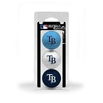 Tampa Bay Rays 3 Ball Clamshell