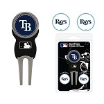 Tampa Bay Rays Divot Tool Set of 3 Markers