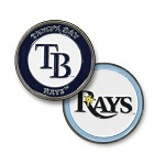 Tampa Bay Rays Double Sided Ball Marker