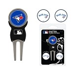 Toronto Blue Jays Divot Tool Set of 3 Markers