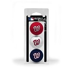 Washington Nationals 3 Ball Clamshell