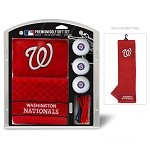 Washington Nationals Embroidered Gift Set