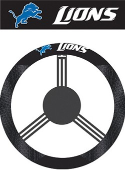 Detroit Lions Steering Wheel Covers