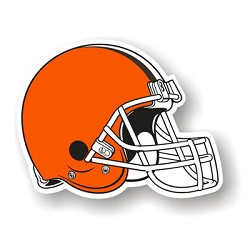 "Cleveland Browns 12"" Die Cut Vinyl Magnets"