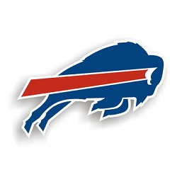 "Buffalo Bills 12"" Die Cut Vinyl Magnets"