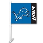 Detroit Lions Car Flags
