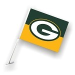 Green Bay Packers Car Flags