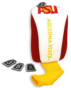 Arizona State Sun Devils Players Performance Golf Headcover