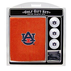 Auburn Tigers Embroidered Golf Gift Set