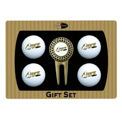 Central Florida Golden Knights 4 Ball Divot Tool Golf Gift Set