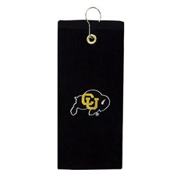 Colorado Buffaloes Embroidered Golf Towel