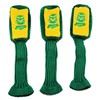 Colorado State Rams Graphite Golf Headcovers