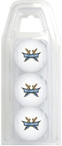 East Tennessee State Buccaneers Golf Balls