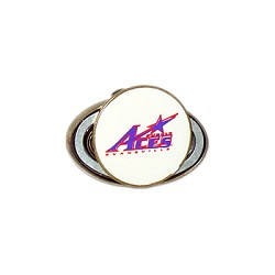 Evansville Purple Aces Golf Hat Clip