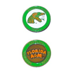 Florida A&M Rattlers Golf Ball Marker