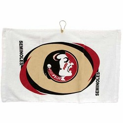 Florida State Seminoles Printed Hemmed Golf Towel