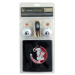Florida State Seminoles Golf Gift Set