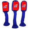 Kansas Jayhawks Graphite Golf Headcovers