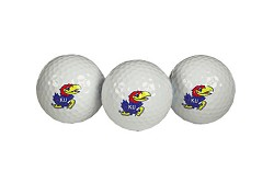 Kansas Jayhawks Golf Balls