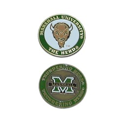 Marshall Thundering Herd Golf Ball Marker