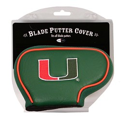 Miami Hurricanes Blade Team Golf Putter Cover