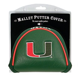 Miami Hurricanes Mallet Team Golf Putter Cover