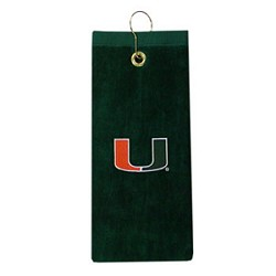 Miami Hurricanes Embroidered Golf Towel
