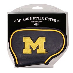 Michigan Wolverines Blade Team Golf Putter Cover