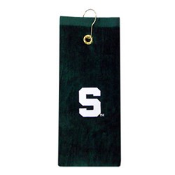 Michigan State Spartans Embroidered Golf Towel