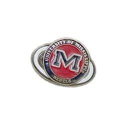 Mississippi Rebels Golf Hat Clip