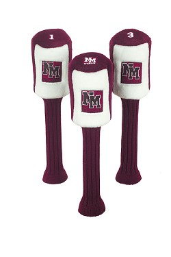 New Mexico State Aggies Graphite Golf Headcovers