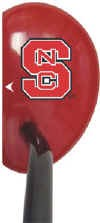 North Carolina State Wolf Pack Mallet Golf Putter