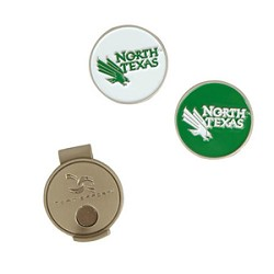 North Texas Mean Green Golf Hat Clip