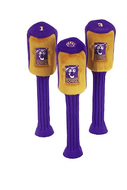 Northern Iowa Panthers Graphite Golf Headcovers