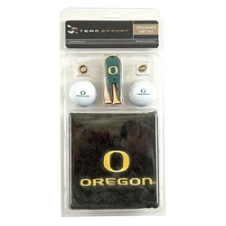 Oregon Ducks Golf Gift Set