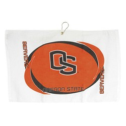 Oregon State Beavers Printed Hemmed Golf Towel