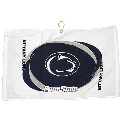 Penn State Nittany Lions Printed Hemmed Golf Towel