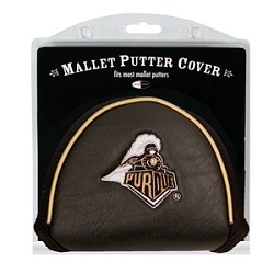 Purdue Boilermakers Mallet Team Golf Putter Cover