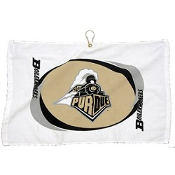 Purdue Boilermakers Printed Hemmed Golf Towel