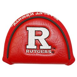 Rutgers Scarlet Knights Mallet Team Golf Putter Cover